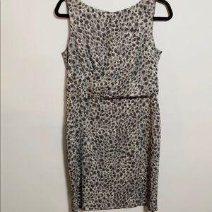 Ann Taylor Petite Animal Print Dress